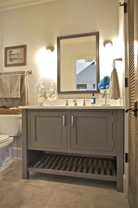 bathroom features  painted maple inset cabinet