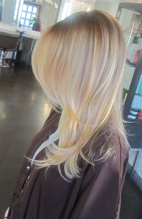 light blonde hair with highlights light ash blonde neil george