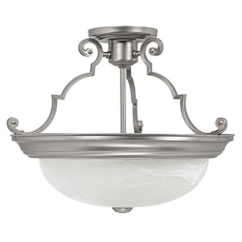 capital lighting flush mount 3 light semi flush ceiling
