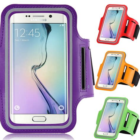 waterproof sport running arm band for samsung galaxy s4 s5 j1 prime 4 7 quot belt pouch