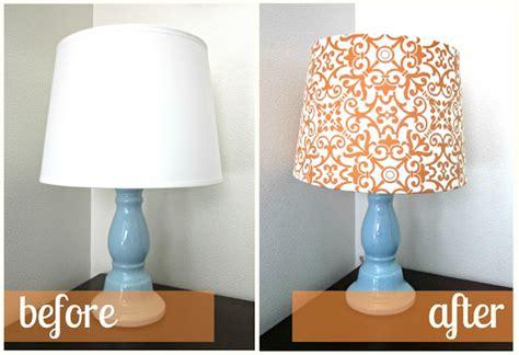 diy lampshade makeovers craft