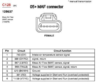 schematic  maf ford truck enthusiasts forums