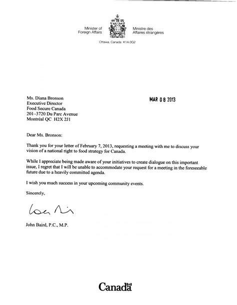Lettres de SAC aux Députés concernant le rapport de