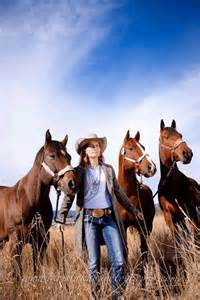 Cowgirl with Horse Photography