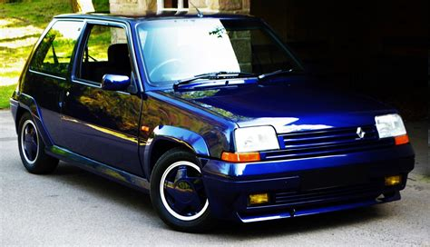 renault car 1990 car of the day 1990 renault 5 gt turbo raider