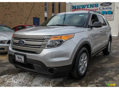 Newins Ford by 2013 Ford Explorer Fwd In Ingot Silver Metallic A35867