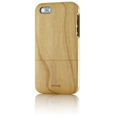 iphone 5s wood solid wood for iphone 5s cherry tree idryad