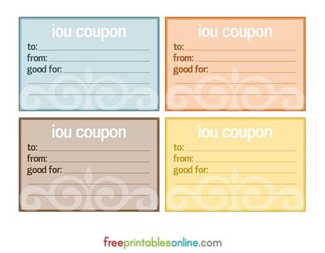 vector  blank coupon template item