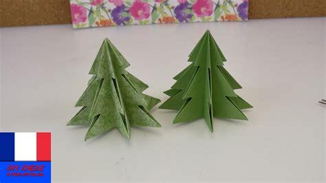 Falten Tannenbaum Anleitung by Origami Pour No 235 L Sapin De No 235 L Diy 224 Faire Soi M 234 Me