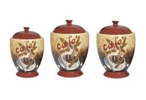 buy special office products 3 coffee house cafe themed ceramic kitchen canisters set of three