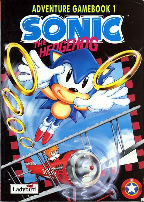 sonic  hedgehog adventure gamebook ladybird sonic