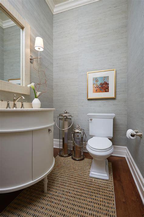 demilune vanity  transitional bathroom hgtv