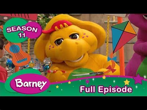 Barney FULL Episode  The New Kid Season 11