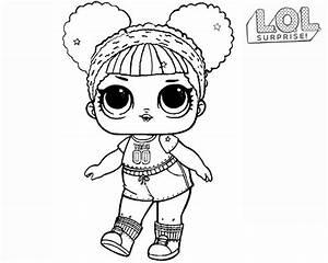 Dibujos Para Colorear De Lol Surprise Serie 3 Unicornio