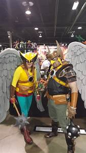 Hawkman And Hawk Woman Cos Play From Over Watch  At The