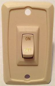 Sigma Rv On  Off Switch With Wall Plate Ivory 7cmx5cm 15a