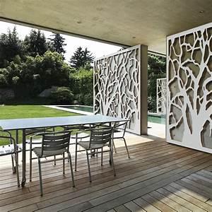 Brise Vue Sur Pied : brise vue terrasse palissadesign d corer un mur ~ Premium-room.com Idées de Décoration