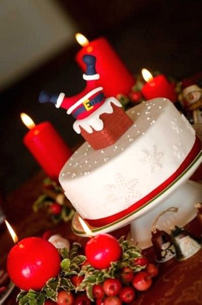 tempting christmas cake designs pink lover