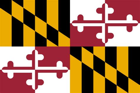 Where can i get svg blank maps of countries along with their states? File:Flag of Maryland.svg - Wikimedia Commons