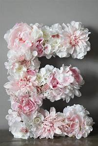 best 25 flower letters ideas on pinterest diy party With giant flower letters