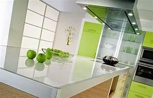 Plan De Travail Com : plan de travail en verre exemples de r alisations en photo ~ Melissatoandfro.com Idées de Décoration