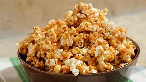 Spicy Caramel Popcorn with Peanuts Recipe & Video Martha