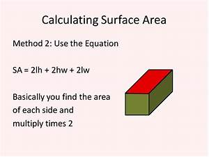 Surface Area of Rectangular Prisms and Cubes (Simplifying ...