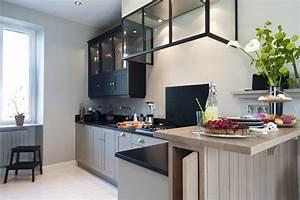 cuisine sur mesure petite surface maison design bahbecom With petite cuisine sur mesure