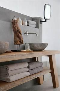 Waschtisch Aus Holz Für Aufsatzwaschbecken : waschtisch holz modern ~ Lizthompson.info Haus und Dekorationen