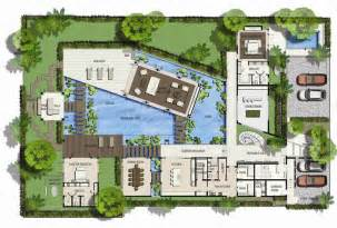 villa home plans 39 s nicest resort floor plans saisawan villas type 2 ground floor plan villa
