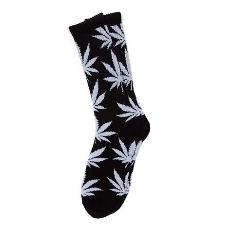 chaussette motif cannabis acheter chaussettes feuilles