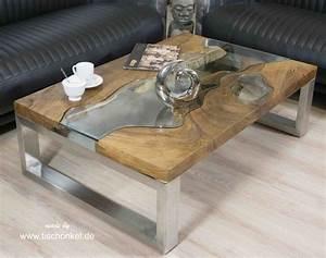 Couchtisch Holz Glas : design couchtisch aus holz der tischonkel ~ Fotosdekora.club Haus und Dekorationen