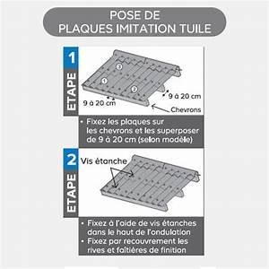 Schema Pose Plaque Fibro Ciment : plaque fibro imitation tuile j cherence ~ Dailycaller-alerts.com Idées de Décoration