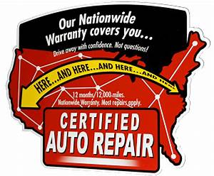 We Are A Certified Auto Repair Shop
