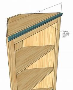 Corner Cabinet Woodworking Plans With Original Trend In