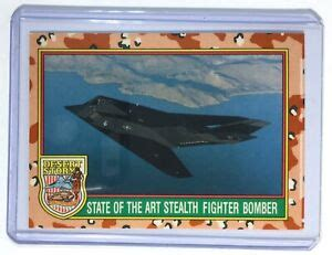 We did not find results for: F-117A Stealth Fighter Bomber Trading card #20 (Desert ...