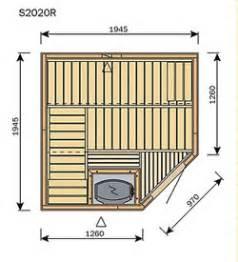 Le Sauna De 2m Par 2 M De Harvia