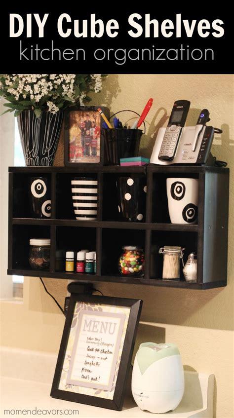 organizing kitchen shelves kitchen organization diy cube shelves 1270