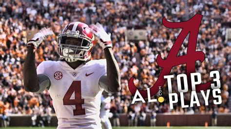 top  plays alabama  tennessee  youtube