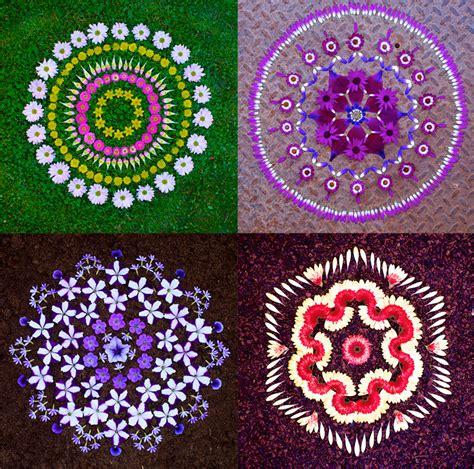 mandala klein artist s wildflower mandalas are offerings from nature treehugger