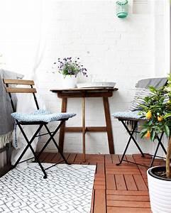 Kleine Wäschespinne Für Balkon : kleinen balkon gestalten wohnkonfetti ~ Indierocktalk.com Haus und Dekorationen