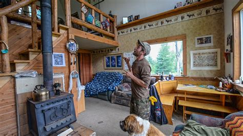 the grid in alaska tiny home cabin interior tour
