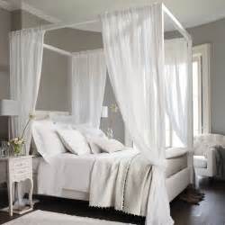 metal canopy bed white with curtains 33 canopy beds and canopy ideas for your bedroom digsdigs