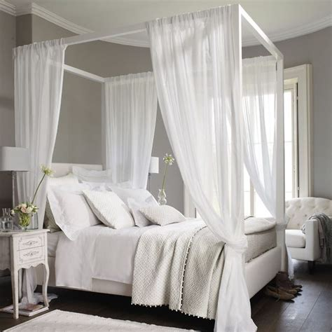 canopy bed drapes 33 canopy beds and canopy ideas for your bedroom digsdigs