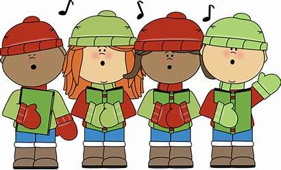 Christmas Carols Caroling Singing Clipart Mycutegraphics Thriving