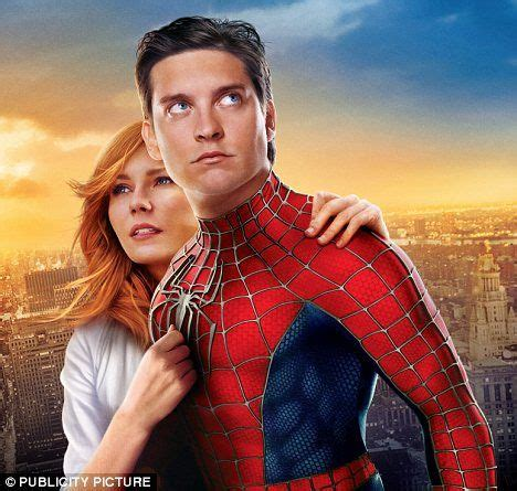 tobey maguire quits spider man    script sends