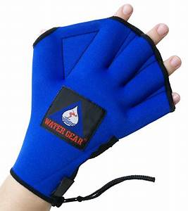 Neoprene Webbed Water Gloves For Water Aerobics Exercise