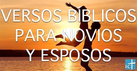 Versos de la Biblia para novios y esposos Informe Cristiano