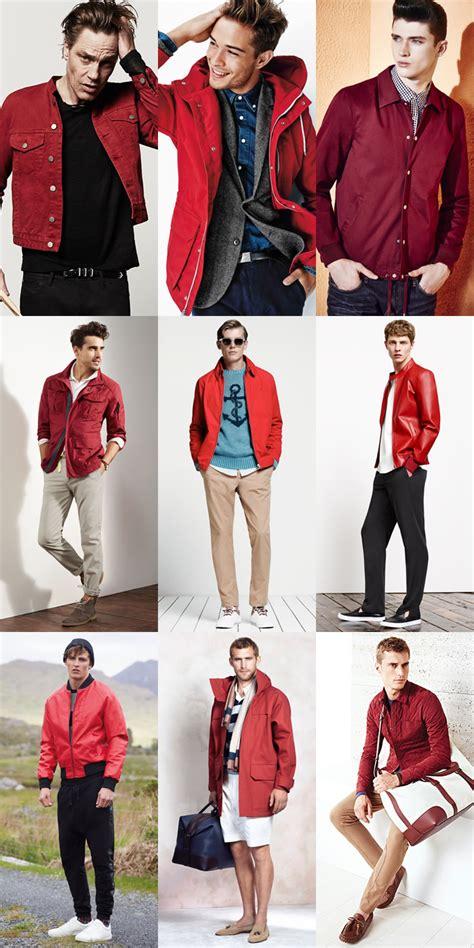 Men Spring Summer Fashion Trend Red Fashionbeans