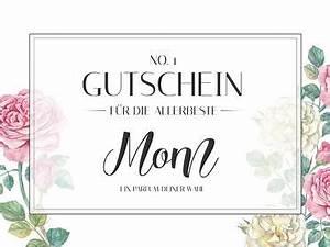 Muttertag Ideen Ausflug : gutscheine zum muttertag ausdrucken kostenlose vorlagen ~ Orissabook.com Haus und Dekorationen